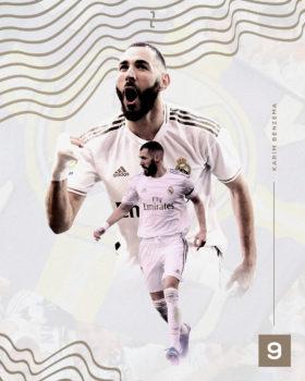 Real Madrid Playersbanner   Visual Design