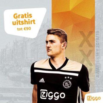 Ziggo – Ajax Away Jersey 18-19